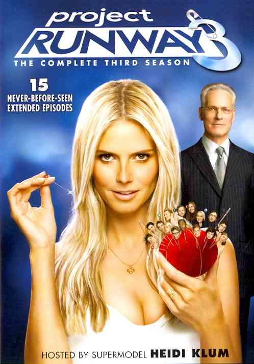 PROJECT RUNWAY SEASON 3 BY PROJECT RUNWAY (DVD)